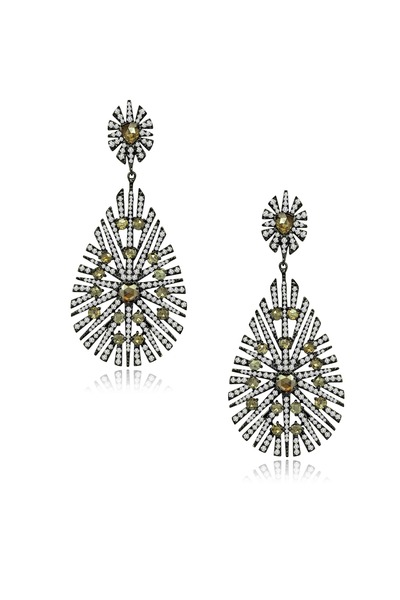 Sutra - Diamond Drop Earrings
