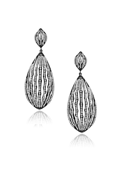 Sutra - Gold Diamond Earrings