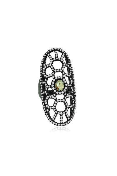 Sutra - Gold Fancy Diamond Ring