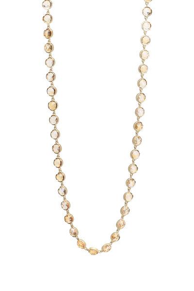 Irene Neuwirth - Yellow Gold Citrine Necklace