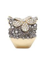 Loren Jewels - 18K Yellow Gold Champagne Diamond Butterfly Ring
