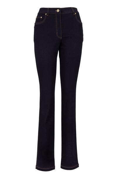 Escada - Dark Blue Stretch Denim Jeans