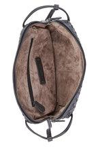 Bottega Veneta - Black Intrecciato Leather Crossbody