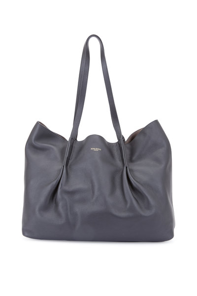 Nina Ricci - Ondine Black Leather Large Tote