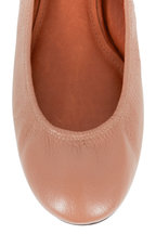 Lanvin - Nude Leather Classic Ballet Flat