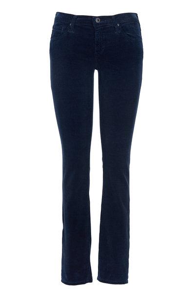 AG - Stilt Sulfur Blue Wash Corduroy Jeans
