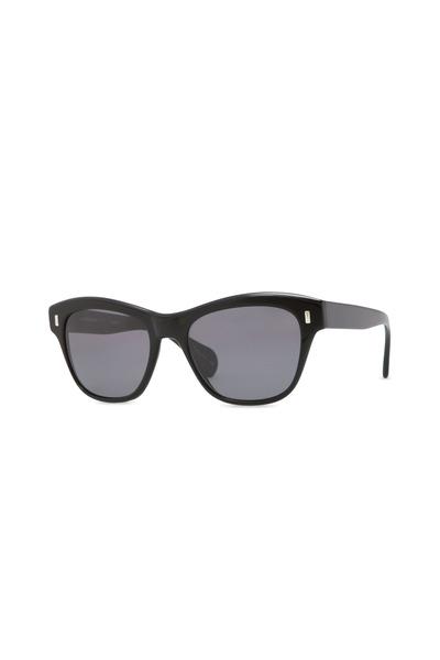 Oliver Peoples - Sofee Black Polarized Cateye Sunglasses