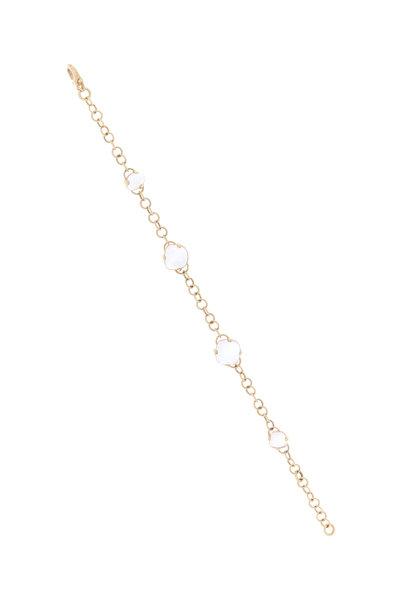 Pomellato - Capri 18K Rose Gold Rock Crystal & Quartz Bracelet