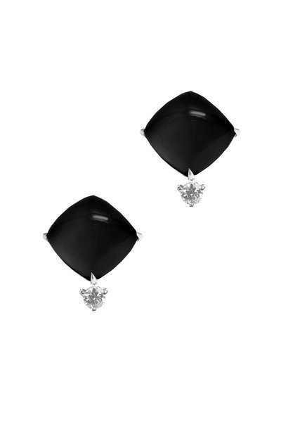 Paolo Costagli - Smoky Topaz Diamond Drop Earring