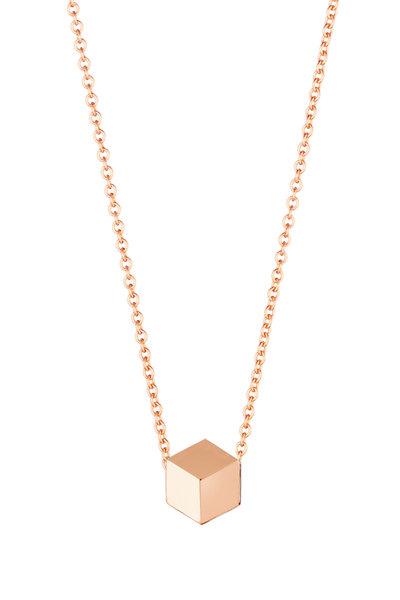 Paolo Costagli - 18K Rose Gold Brilliante Pendant Necklace