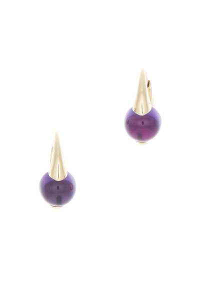 Pomellato - M'ama Non M'ama 18K Rose Gold Amethyst Earrings