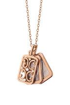 Monica Rich Kosann - 18K Rose Gold Gate Locket Necklace
