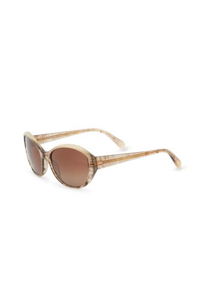 Oliver Peoples - Addie 55 Brown Sunglasses