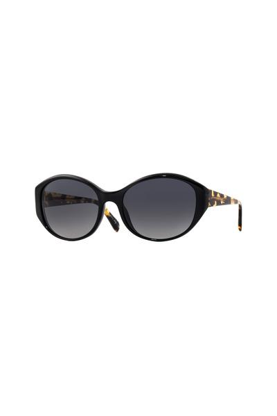 Oliver Peoples - Addie Black Polarized Cateye Sunglasses