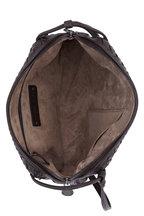 Bottega Veneta - Espresso Intrecciato Leather Pillow Crossbody