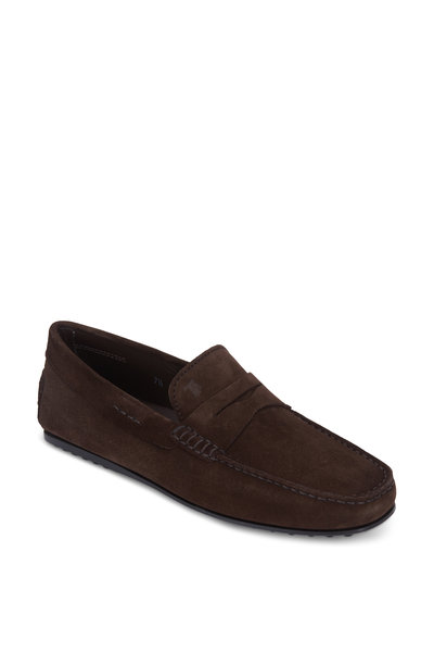 Tod's - City Gommini Dark Brown Penny Loafer