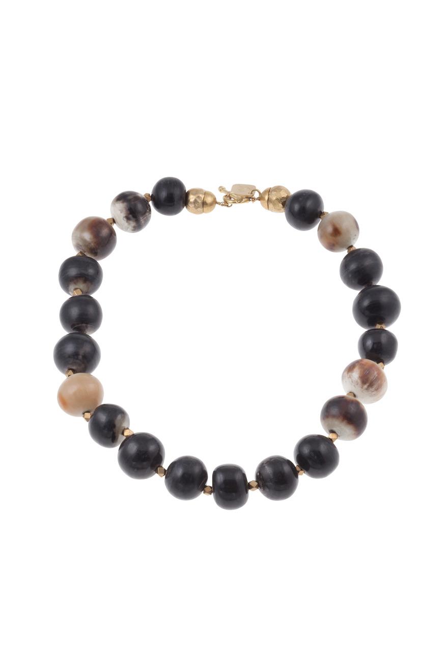 Kubwa Mpira Bead Necklace