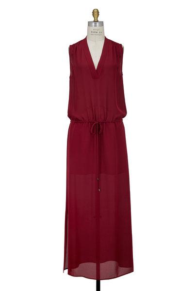 Vince - Bordeux Silk Maxi Dress