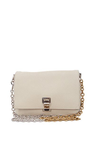 Proenza Schouler - PS Courier Talc Two-Toned Chain Shoulder Bag