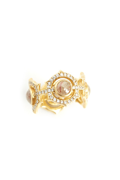 Sylva & Cie - Gold Diamond Ring