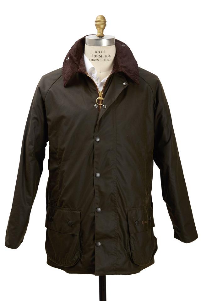 Beaufort Olive Green Wax Jacket