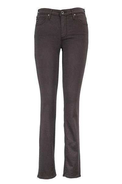 AG - Prima Dark Gray Sateen Five Pocket Jean