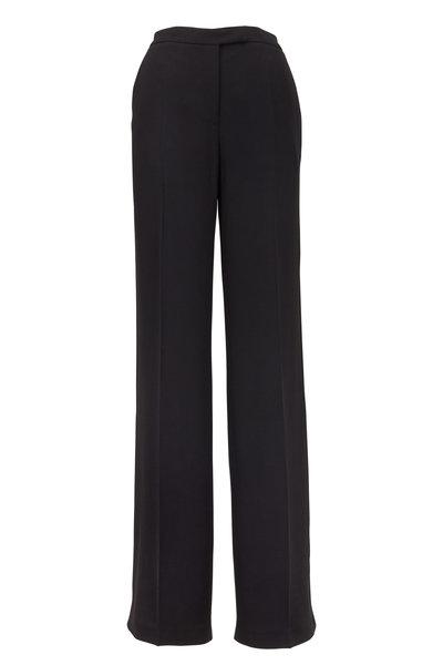 Elie Saab - Black Side Lace Inset Pants