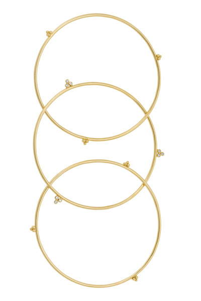 Temple St. Clair - Gold Olympian Bangle Set