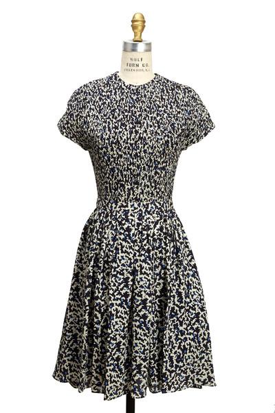 Proenza Schouler - Black & White Print Dress