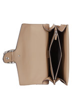 Gucci - Dionysus Testa Tigre Taupe Suede Shoulder Bag