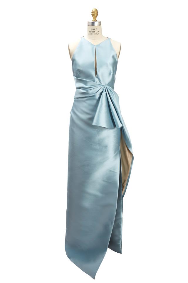 Blue Polyethylene Gown