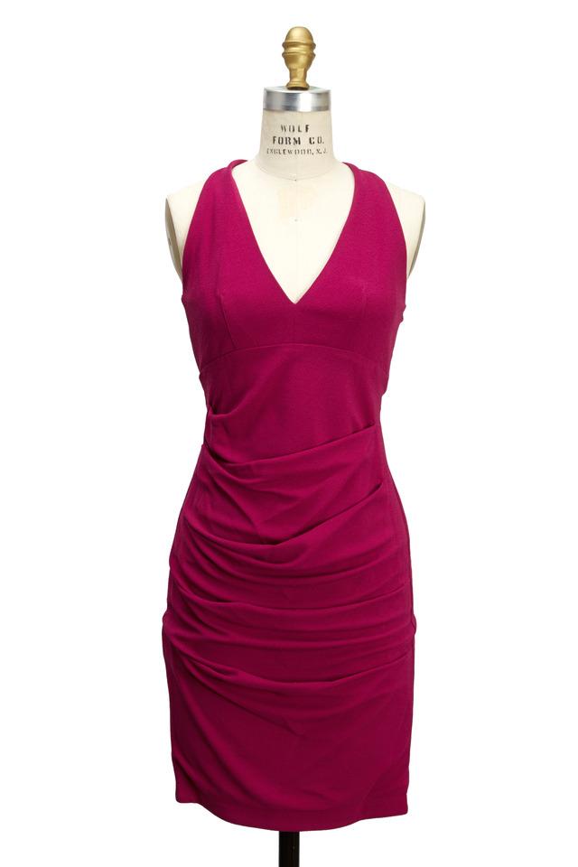 Pink Jersey Dress