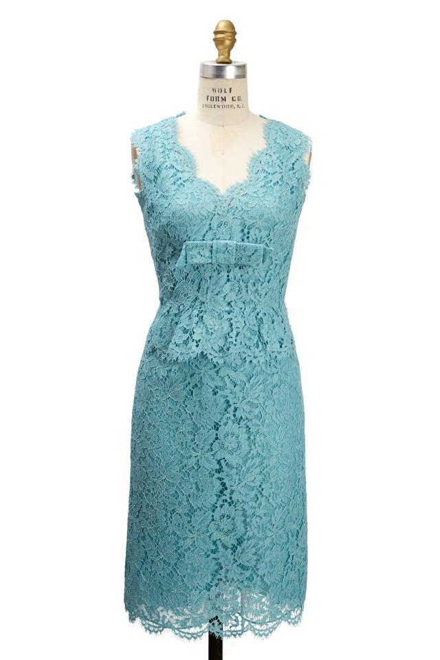 Aqua Lace Bambolina Dress
