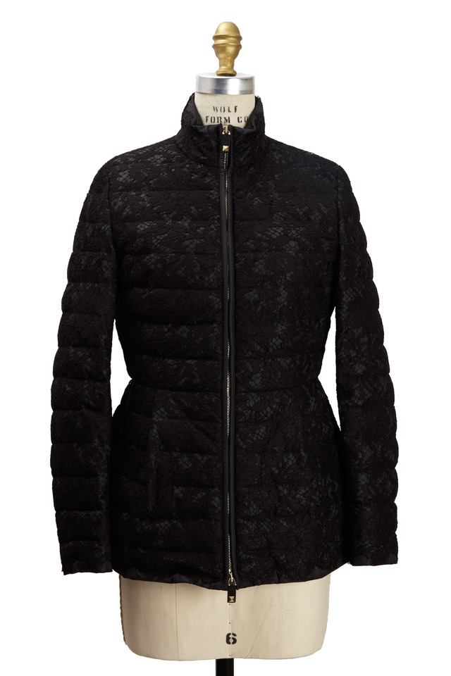 Black Long Sleeve Lace Jacket