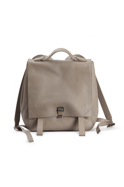 Proenza Schouler - Mushroom Grey Leather Backpack