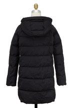 Bogner - Sheila Black Hooded Quilted Puffer Coat