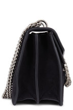 Gucci - Dionysus Black Suede Small Shoulder Bag