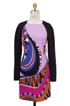 Pucci - Purple & Black Onyx Print Dress