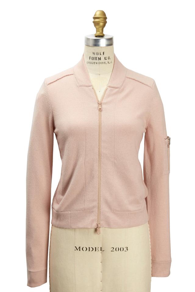 Light Pink Cashmere Cardigan
