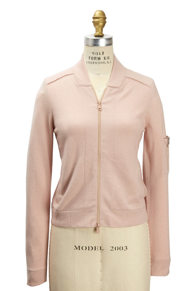 Brunello Cucinelli - Light Pink Cashmere Cardigan