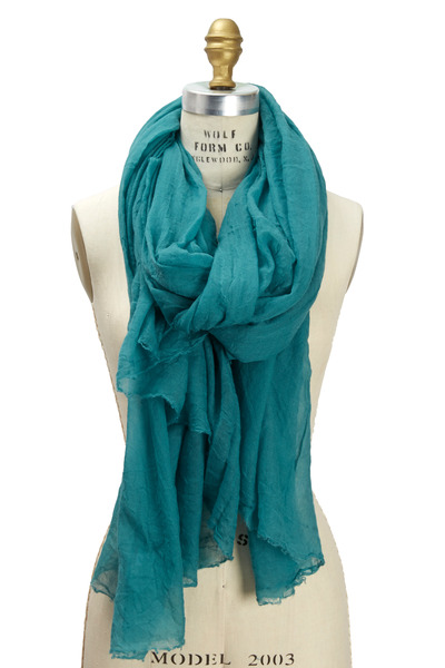 Brunello Cucinelli - Emerald Cloud Cashmere Scarf