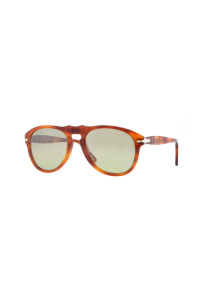 Persol - PO064954 Retro Green Keyhole Sunglasses