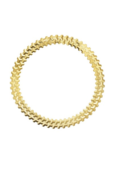Paolo Costagli - Faceted Yellow Gold Choker Necklace
