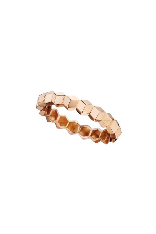 Brilliante Rose Gold Stack Ring