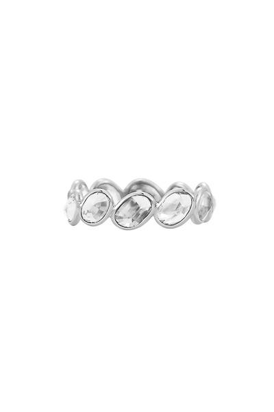 Paolo Costagli - White Gold White Sapphire Stack Ring