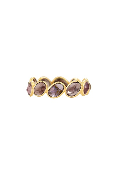 Paolo Costagli - Gold Color-Changing Sapphire Stack Ring