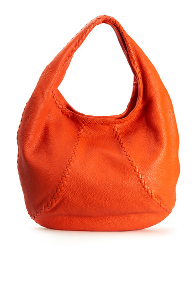 Bottega Veneta - Tangerine Cervo Medium Hobo