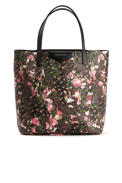 Givenchy - Antigona Multi Floral Canvas Small Tote