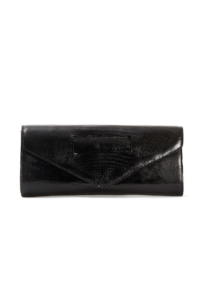 Daniella Ortiz - Ashley Black Flap Clutch