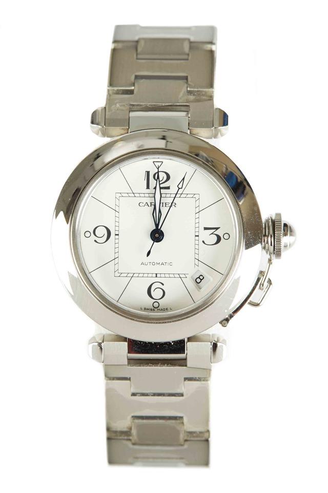 Pasha De Cartier Steel Automatic Watch
